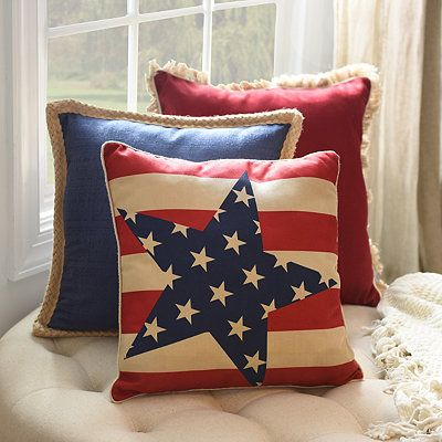 Grand Old Flag Pillow | Kirklands