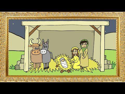 Jesus wird geboren, Weihnachtsgeschichte nach der Bibel, Zeichentrick für Kinder und ganze Familie - YouTube