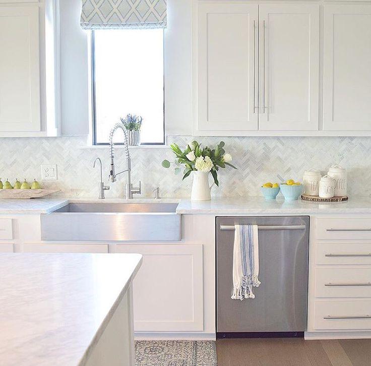 Backsplash For White Kitchens: Kitchen, Home
