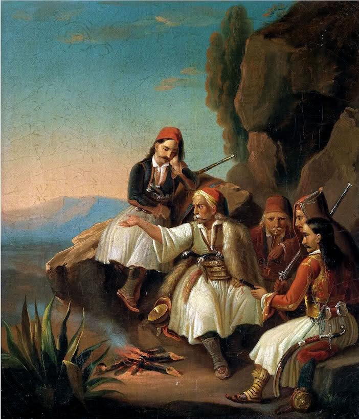 Theodoros Vryzakis - War Council