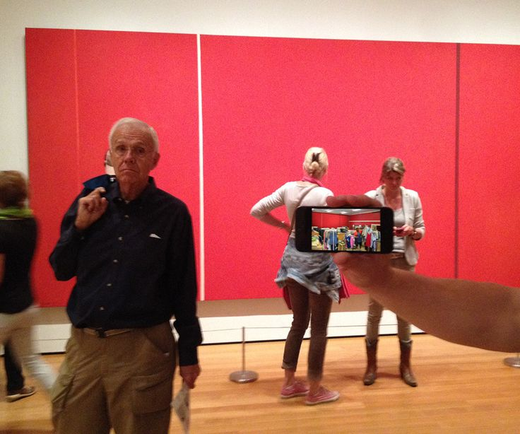 Went to MoMA, put GAiURs in front of Willem de Kooning, Barnett Newman and Ed Ruscha (click names to see GAiURs)