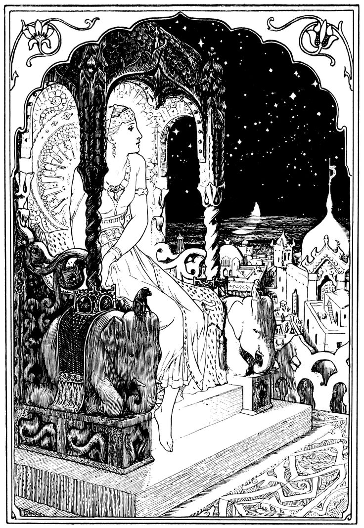 Frontispiece Of Indian Fairy Tales 1892 Public Domain
