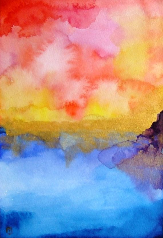 17 Best images about Watercolor Abstract Art on Pinterest ...
