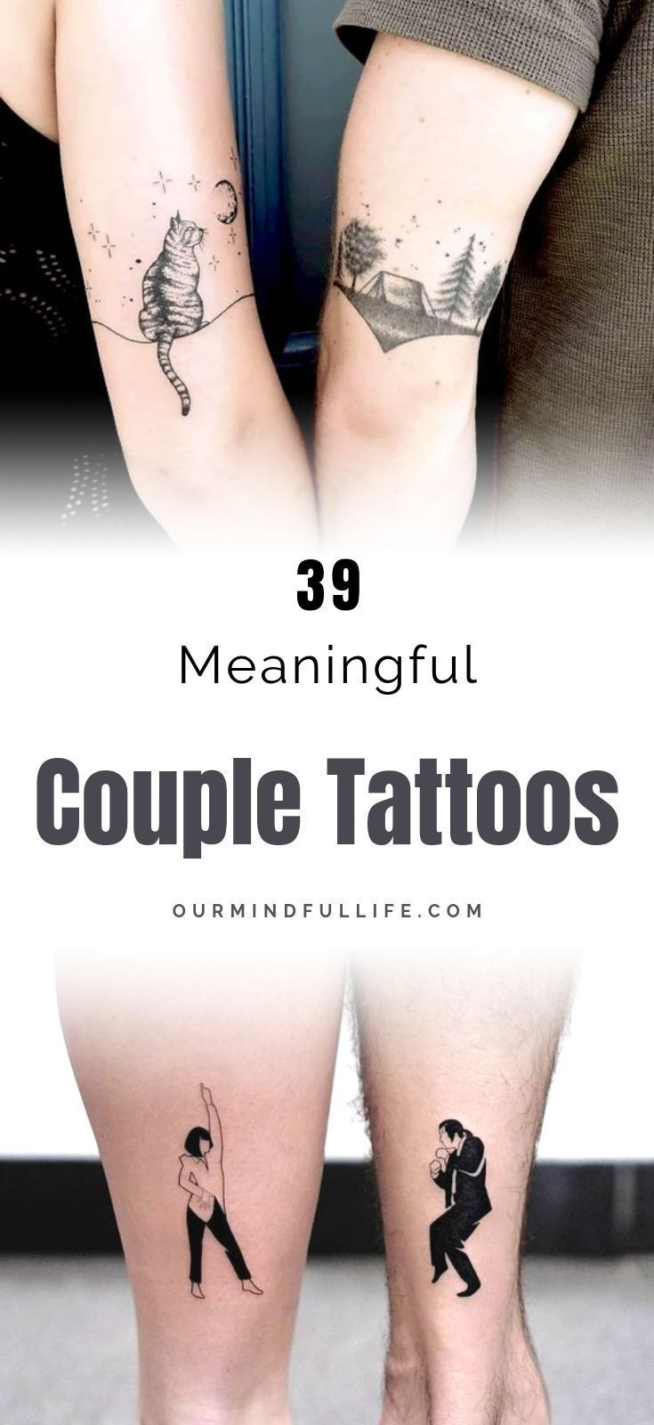 109 Romantic Couple Tattoos To Honor Your Relationship In 2020 Romantic Couples Tattoos Matching Couple Tattoos Meaningful Tattoos For Couples