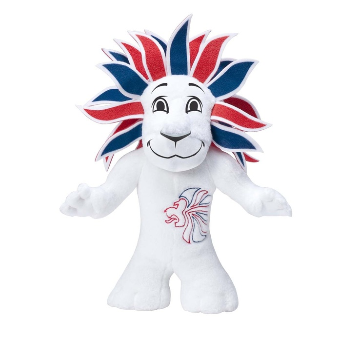 Team GB Olympic Pride the Lion soft toy - 20cm, , original: Team Gb, Pride, Gb Mascot, Lion, 2012 Olympics, Toy, 2012 Team, Olympics 2012, Gb Olympic