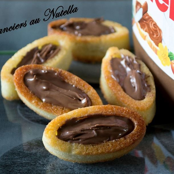 Financiers au Nutella®