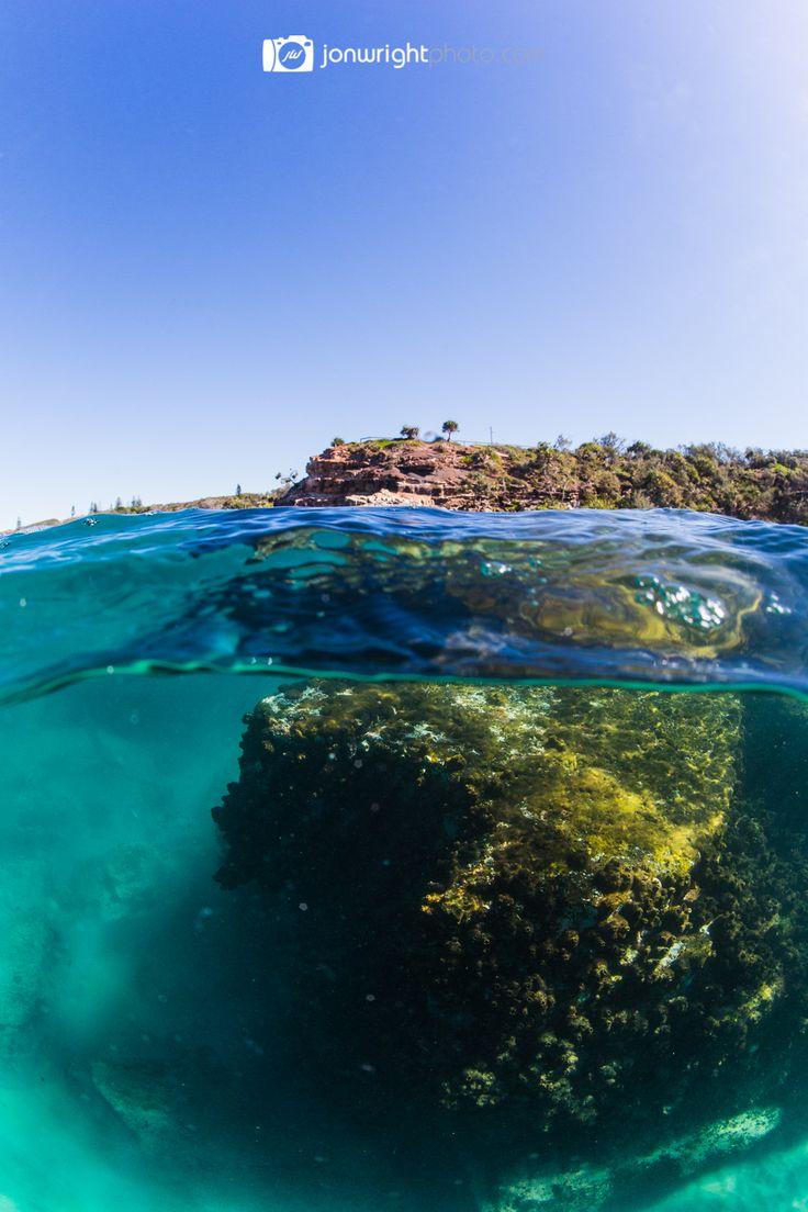 Snorkeling Point Arkwright - Sunshine Coast Queensland Australia | Jon Wright photo