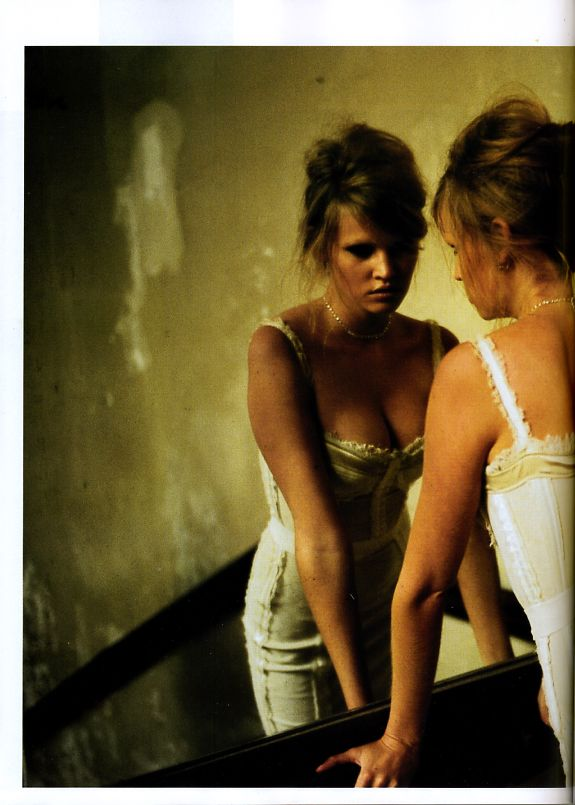 "Vogue Paris February 2009 ""Lara en Rêve"" Model: Lara Stone Photographer: Nan Goldin"