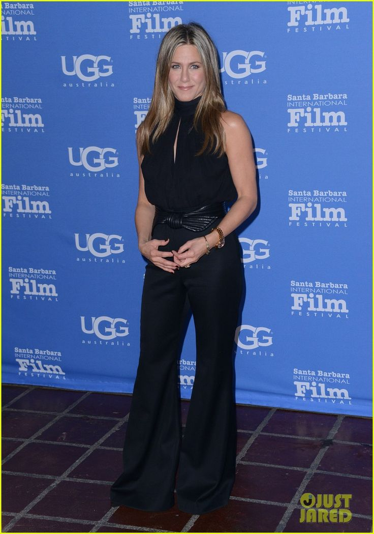 Jennifer Aniston Honored with the Montecito Award at the Santa Barbara Film Festival 2015 - keeping it fit