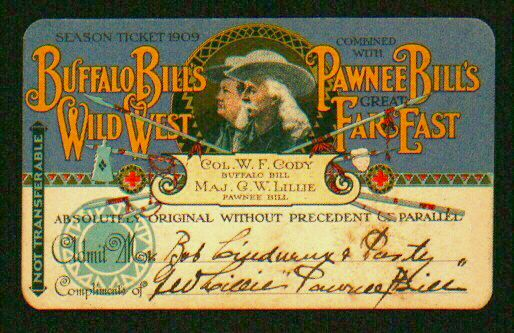 Buffalo Bill ticket