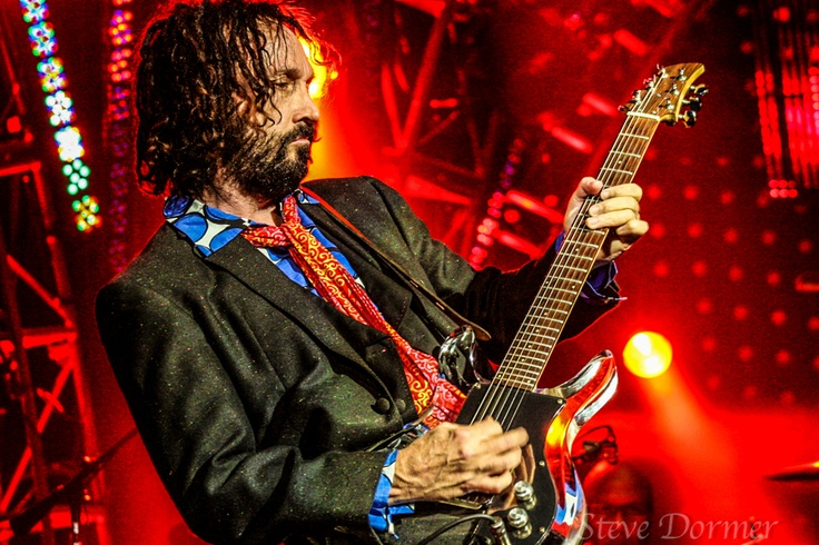 Mike Campbell of the Heartbreakers.