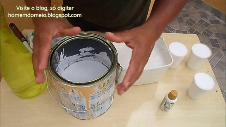 Medidas exatas para fazer tinta em quantidade. O canal o atalaia oferece tutoriais para o lar e neste tutorial você vai aprender a fazer sua própria tinta em qu