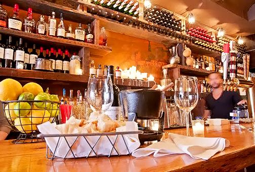 """Kashkaval Garden - """"Kashkaval Garden"""" is Hell's Kitchen's newest wine bar featuring Mediterannean Tapas, Grilled Skewers, Cheese Dishes, with a full bar."""