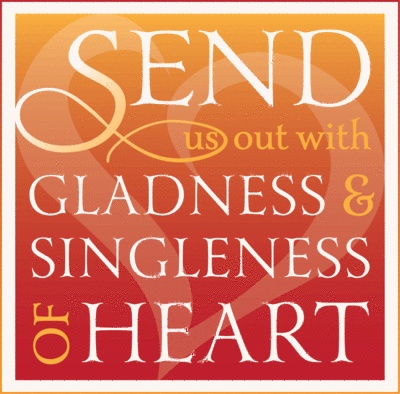 2013 Episcopal Church in East Tennessee Diocesan Convention theme: Send Us Out With Gladness and Singleness of Heart