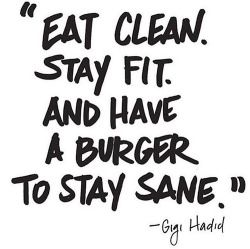 """I think it's okay to have a """"cheat day"""". What do you think? Do you have one? Because I do!"""