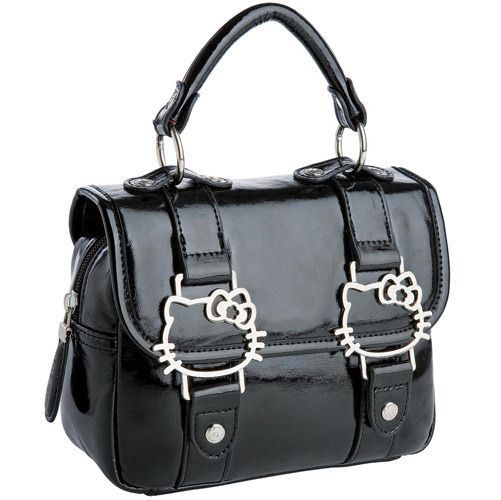 Hello Kitty satchel with HK buckles o(^▽^)o