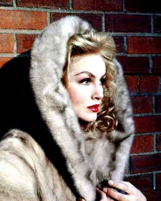 Julie Newmar but now we wouldn't do real fur