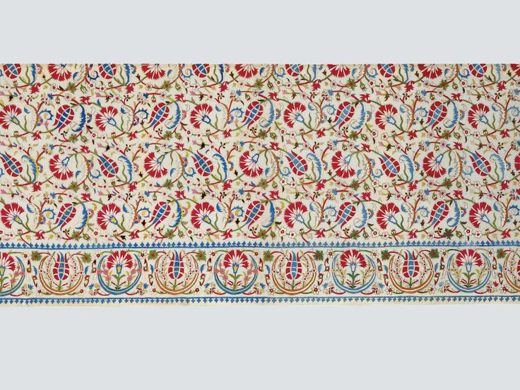 Embroidered cover (detail), Istanbul, 16th/early 17th century. TM 1.22. Acquired by George Hewitt Myers / The Textile Museum