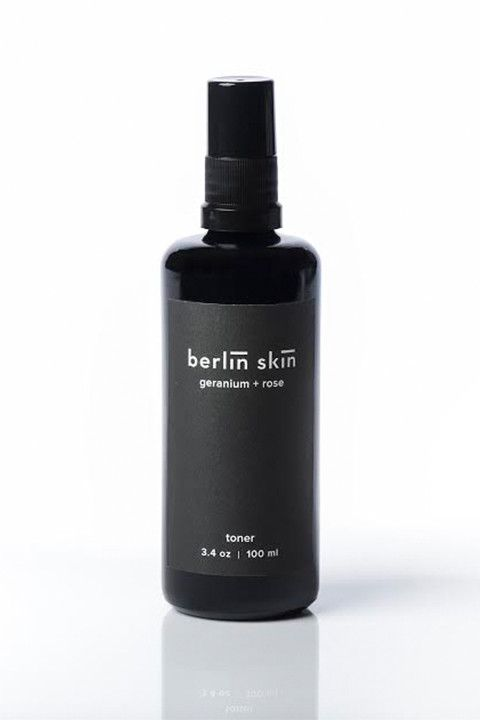 Portland-based Berlin Skin's calming, antibacteria,l and anti-inflammatory mist works to refresh, regenerate, and soothe the skin. The blend includes lavender, rose, and geranium to boost collagen and