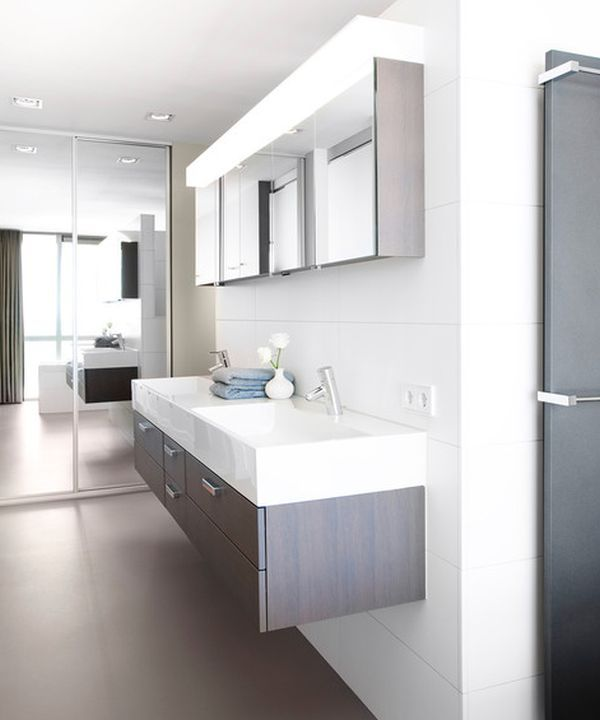27 floating sink cabinets and bathroom vanity ideas - Small Modern Bathroom Vanities