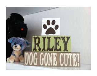 """Dog Gone Cute!"" (I so need to be preggo like, now. A dog-themed nursery would be so cool!)"