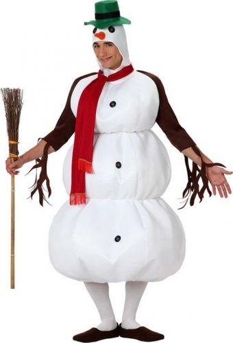 Costume pupazzo di neve adulto Natale: che idea sorprendente per il prossimo Natale!