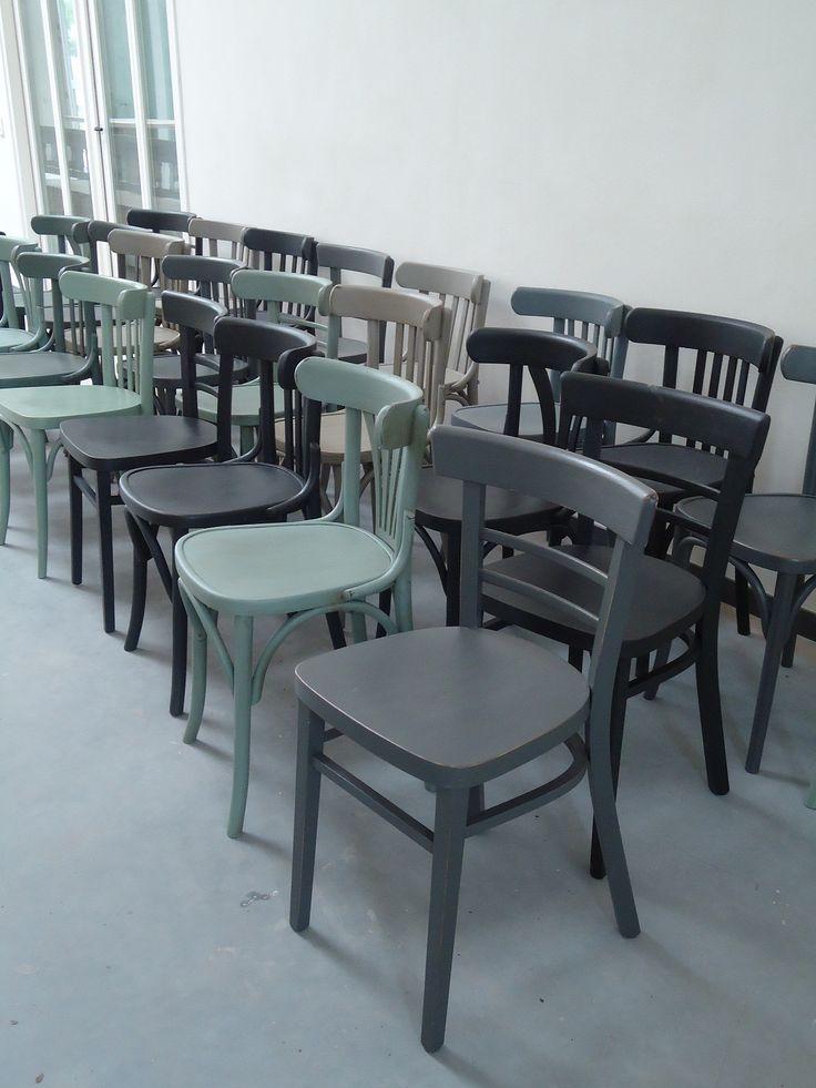 25 beste idee n over cafe stoelen op pinterest frans cafe gebogen houten stoelen en turkoois - Kleur trendy restaurant ...