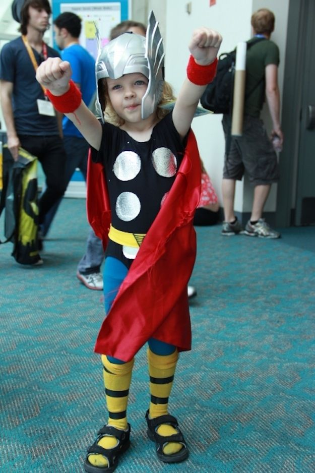 31 Super Cute Photos Of Cosplay Kids