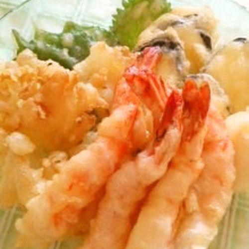 There's no need to buy tempura flour, make your own! Serve light and crispy tempura prepared with ingredients you have in your kitchen.