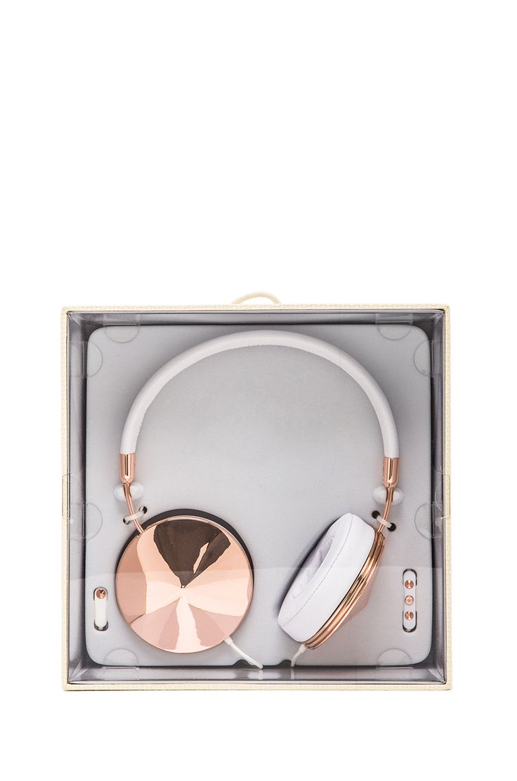 FRENDS Taylor Headphones in Rose & White | REVOLVE