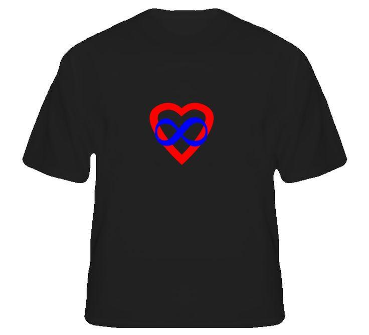 Polyamory Infinite Love Kinky T Shirt