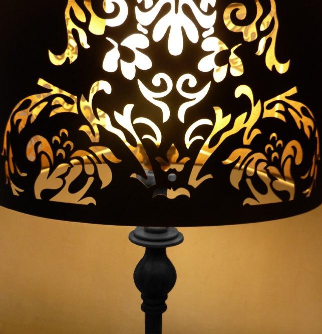 Baroc Cut 37cm Lamp Shade