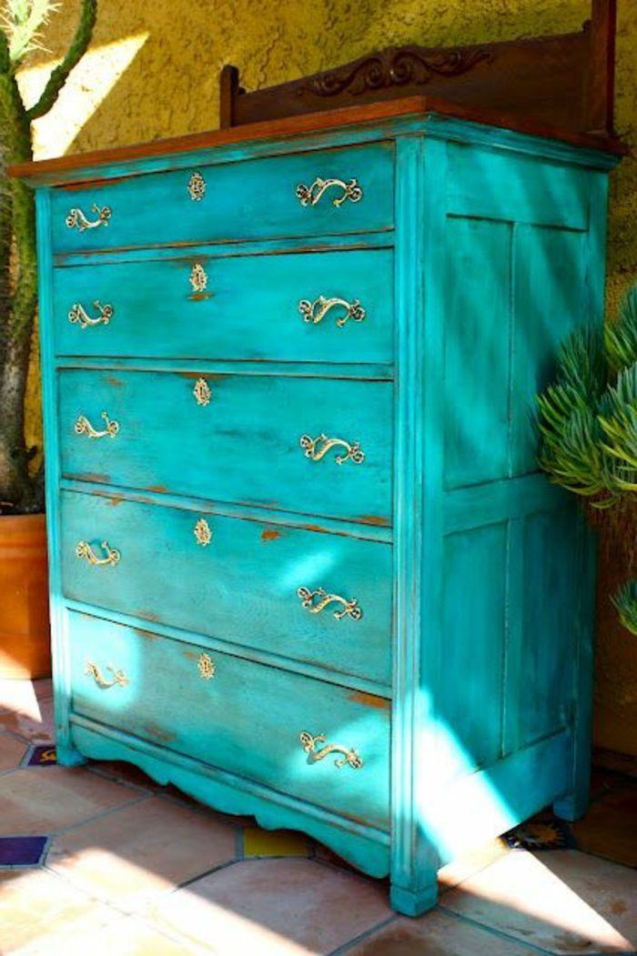Comment repeindre un meuble? Une nouvelle apparence! Salons - Repeindre Un Meuble En Chene