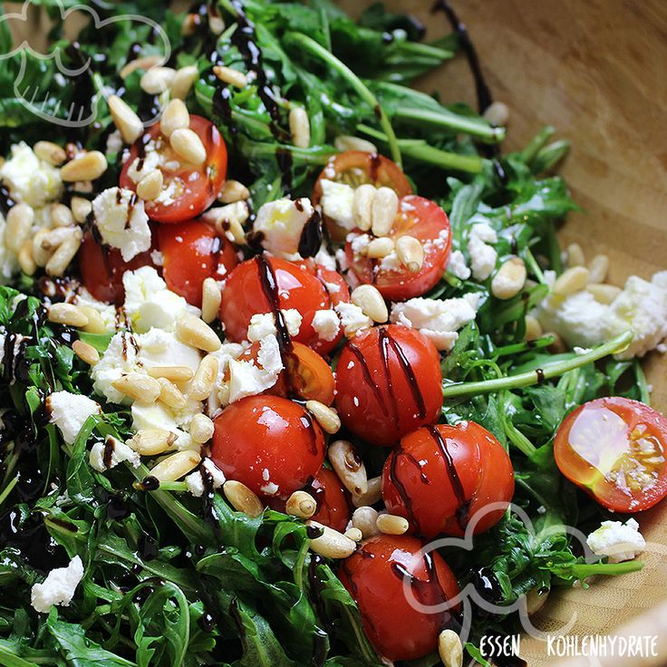 Fresh rocket salad