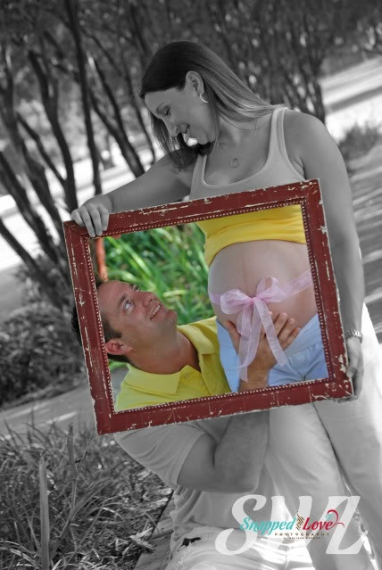 Could do for maternity ....or anything else. I LOVE the idea of making the inside of the picture frame in color.