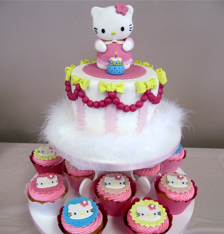 64 best Hello kitty designs images on Pinterest Hello kitty cake