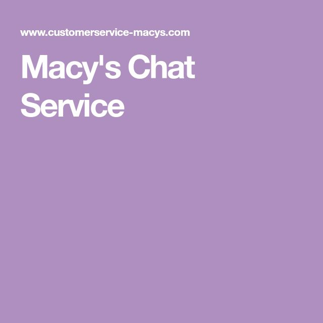 Macy chat