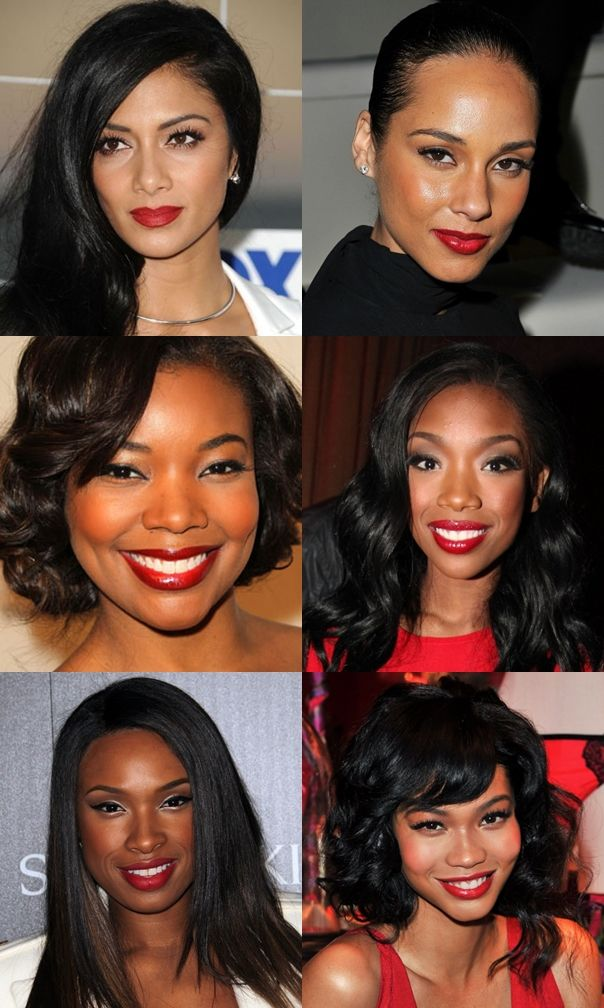 Red lipstick shades that best compliment the