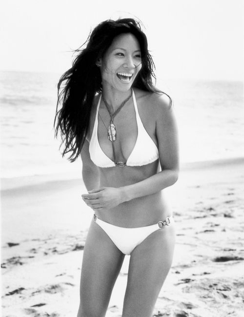 Lucy Liu credits pilates for making her feel longer and leaner