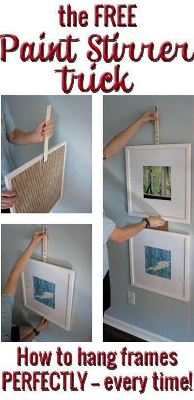 25 best ideas about hanging picture frames on pinterest. Black Bedroom Furniture Sets. Home Design Ideas