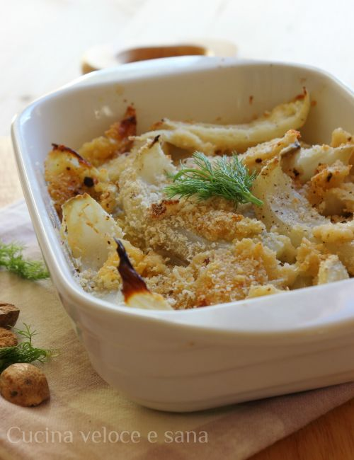 finocchi gratinati