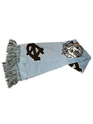 "UNC Tar Heels TOW Blue Dual Logo Winter Scarf with Tassles (62"" x 6.5"")"