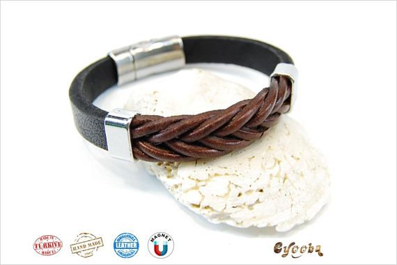 Hey, I found this really awesome Etsy listing at https://www.etsy.com/listing/570526787/leather-bracelet-men-mens-jewelry-women