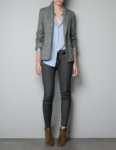 """""""The smart casual look allows flexibility for personal taste in fashion and includes jackets, outfit-enhancing jewelry, dress pants, dress shirts, skirts, tailored sweaters, vests, ties, matching leather accessories, and leather pull on shoes and boots."""" (Susan M. Heathfield)"""