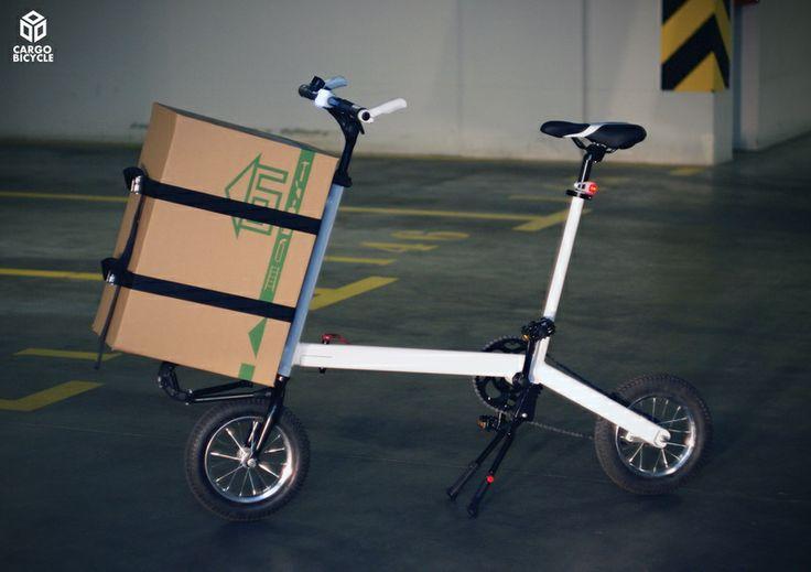 Cargo bicycle - concept bike - barrow