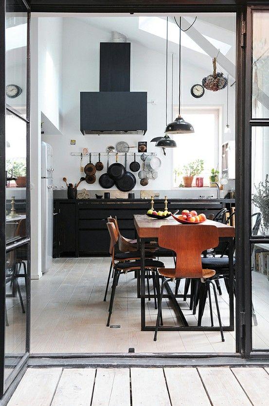 Cuisine industrielle / Industrial kitchen