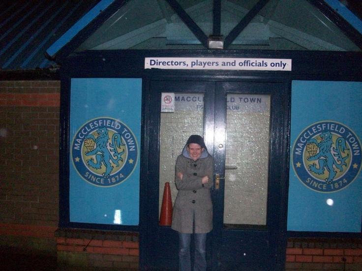 Macclesfield Town FC: Moss Rose