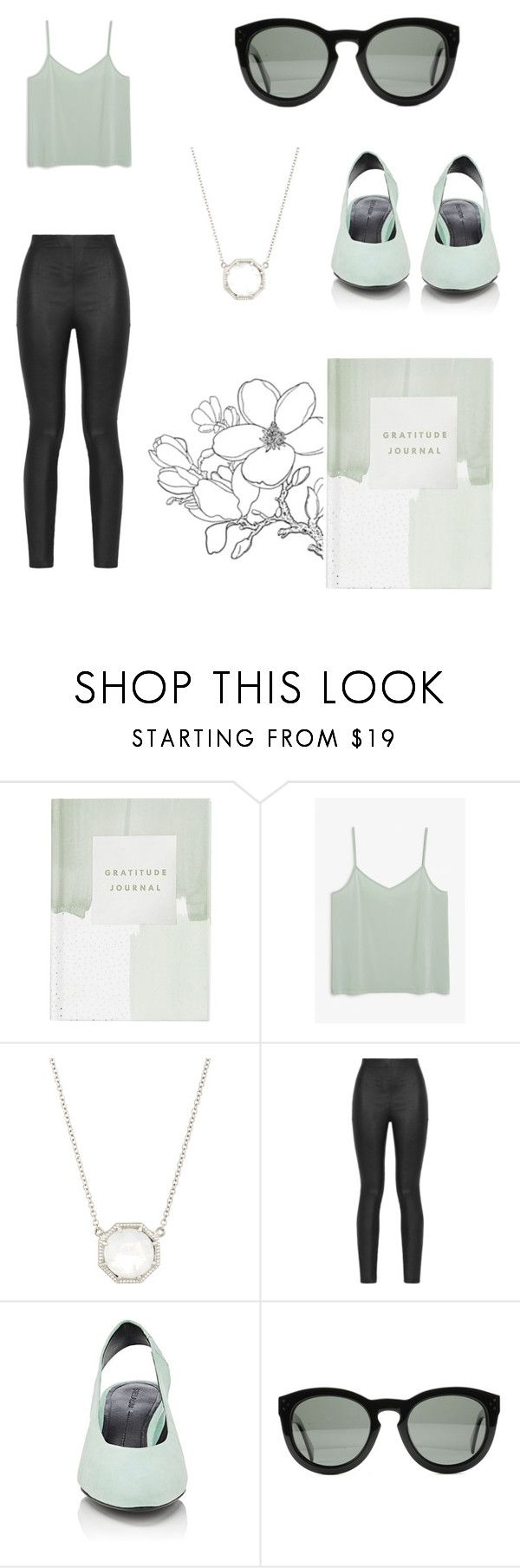 """""""No. 21"""" by anasau ❤ liked on Polyvore featuring Thrive, Monki, Grace Lee Designs, Armani Jeans, Stella Luna and CÉLINE"""
