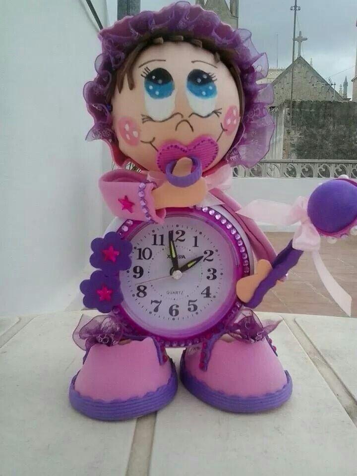 BABY SHOWER~bebé clock