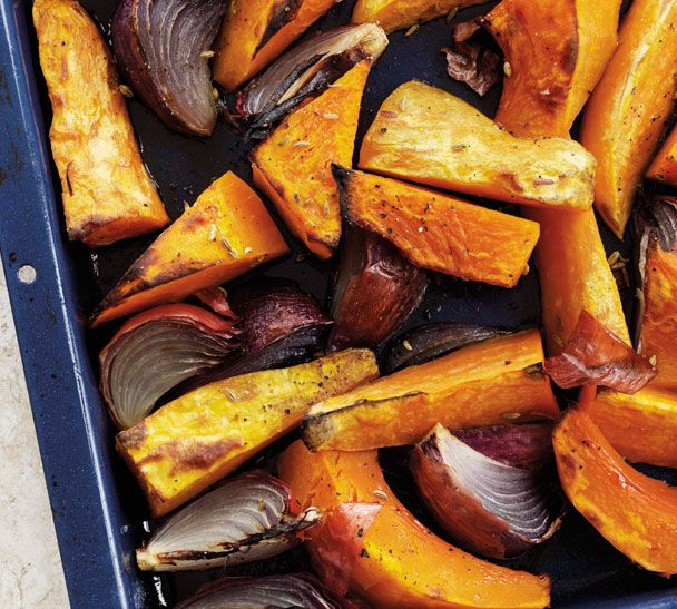 Maple Roasted Vegetables  http://www.annabel-langbein.com/recipes/maple-roasted-vegetables/113